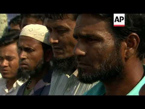 UK's Johnson tours Rohingya villages during Myanmar visit