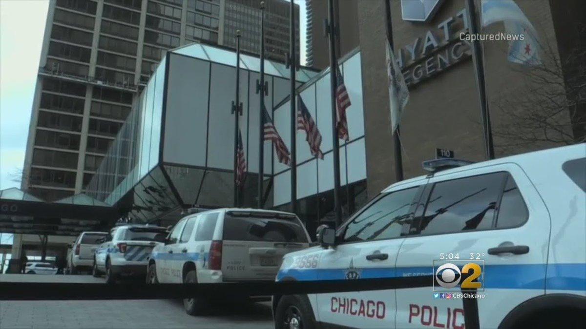 Gun Goes Off In Hotel Lobby