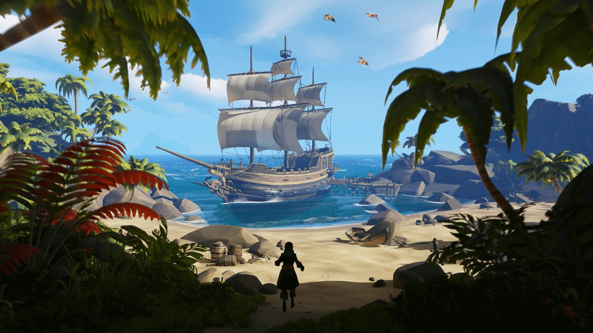 REMINDER  We are expecting ins sea of thieves