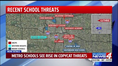 Number of threats made against metro Oklahoma City schools in days after Florida massacre