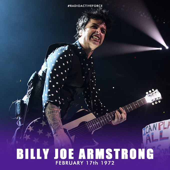 Happy birthday Billie Joe Armstrong (Green Day), Stay young and wild !!