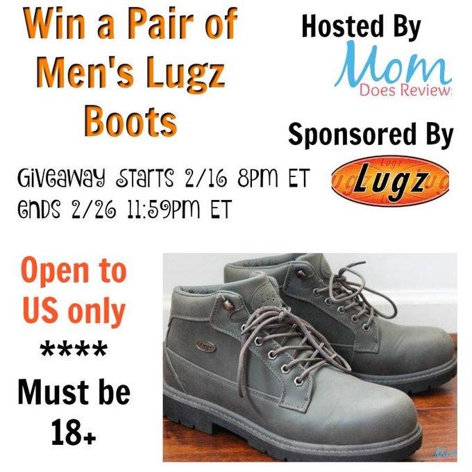 Men's Lugz Boots GA-1-US Ends 2/26