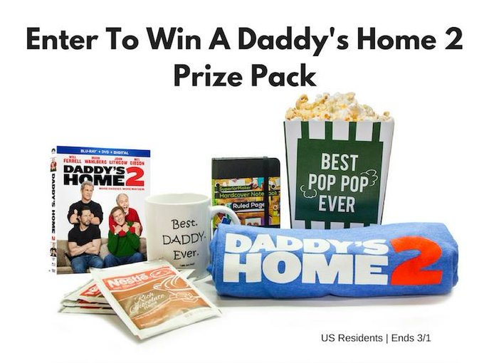 Daddy's Home 2 Prize Pack-1-US-Ends 3/1