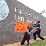 NASA supporters protest at US embassy, want Godec to leave