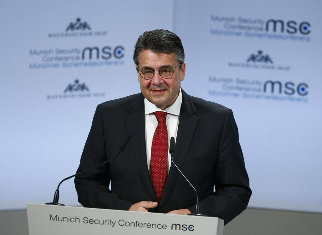 Ukraine progress should soften sanctions on Russia: Germany's Gabriel