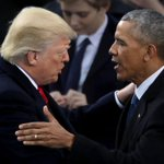 Trump one of least popular presidents since polls began, while Obama one of the most liked, new survey finds