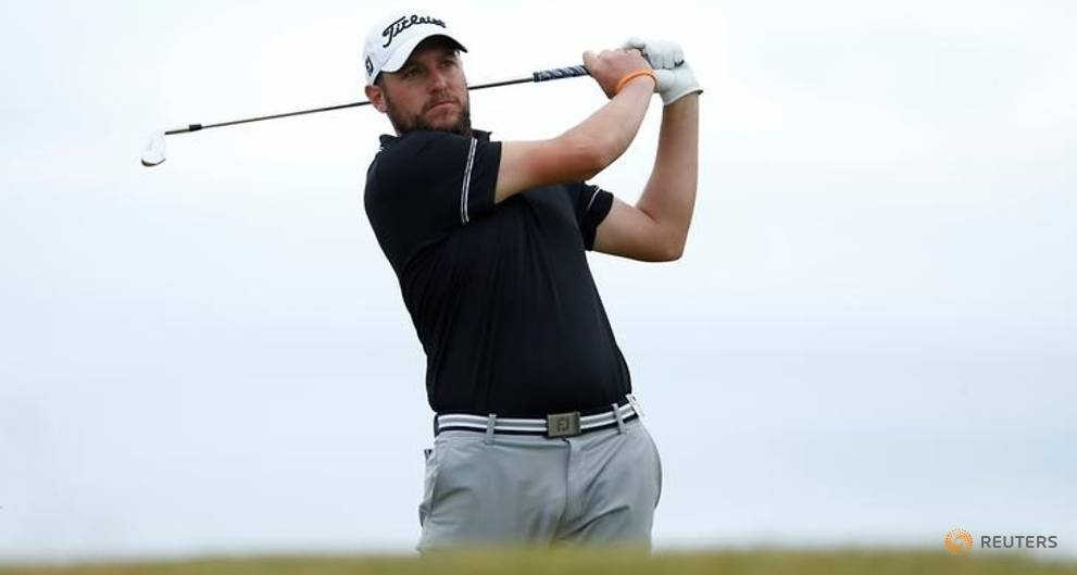 Southgate endures roller-coaster round to share lead in Oman