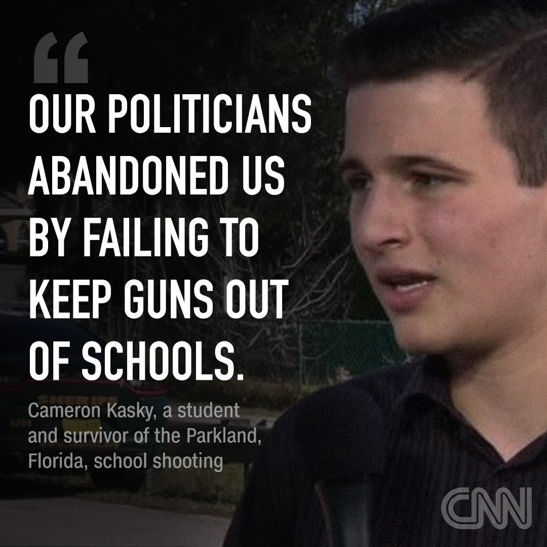 Cameron Kasky, A Survivor Of The Parkland Shooting, Writes