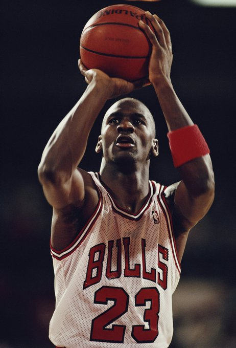 Happy birthday, Michael Jordan