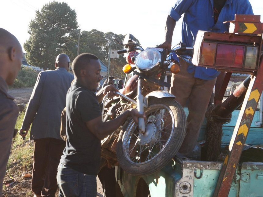 Boda boda rider, passenger killed in hit-and-run accident at Kikuyu