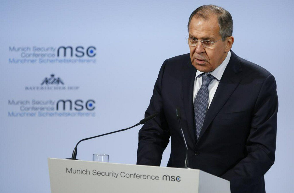 Russia's Lavrov says reports on U.S. election interference 'just blather'