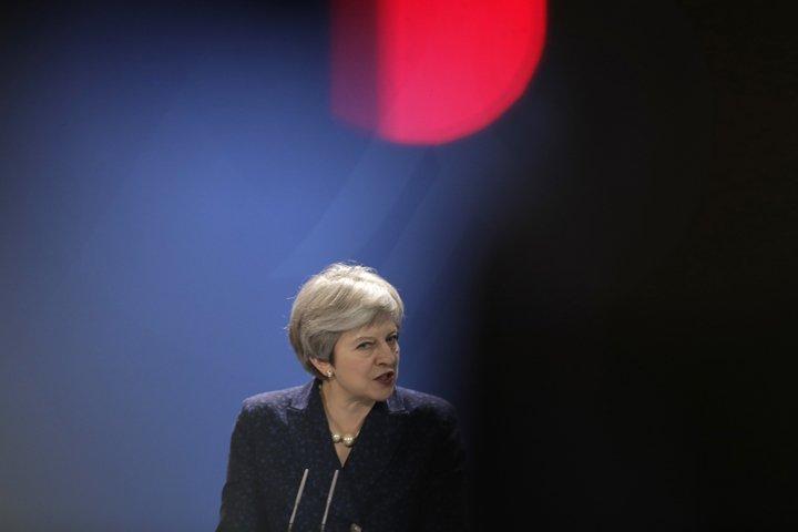@BroadcastImagem: Theresa May pede 'profunda' parceria com UE em questões de segurança. Markus Schreiber/AP