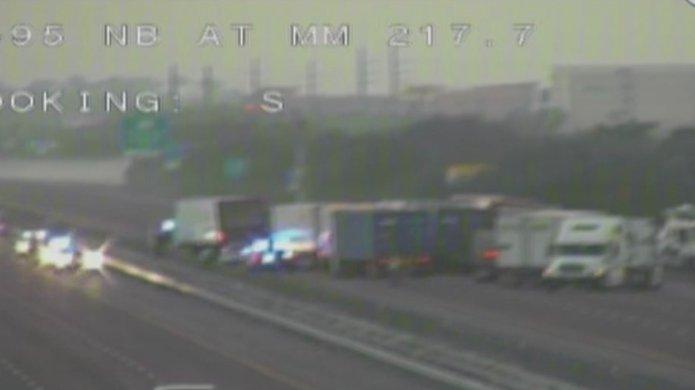 Brevard County deputy killed in crash on I-95