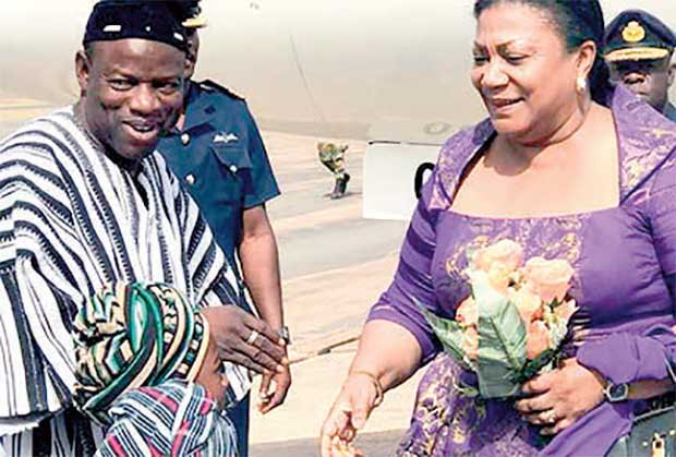 First Lady Commissions CHPS Compound