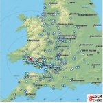 M4.9 #earthquake strikes 88 km W of #Bristol (Unit...