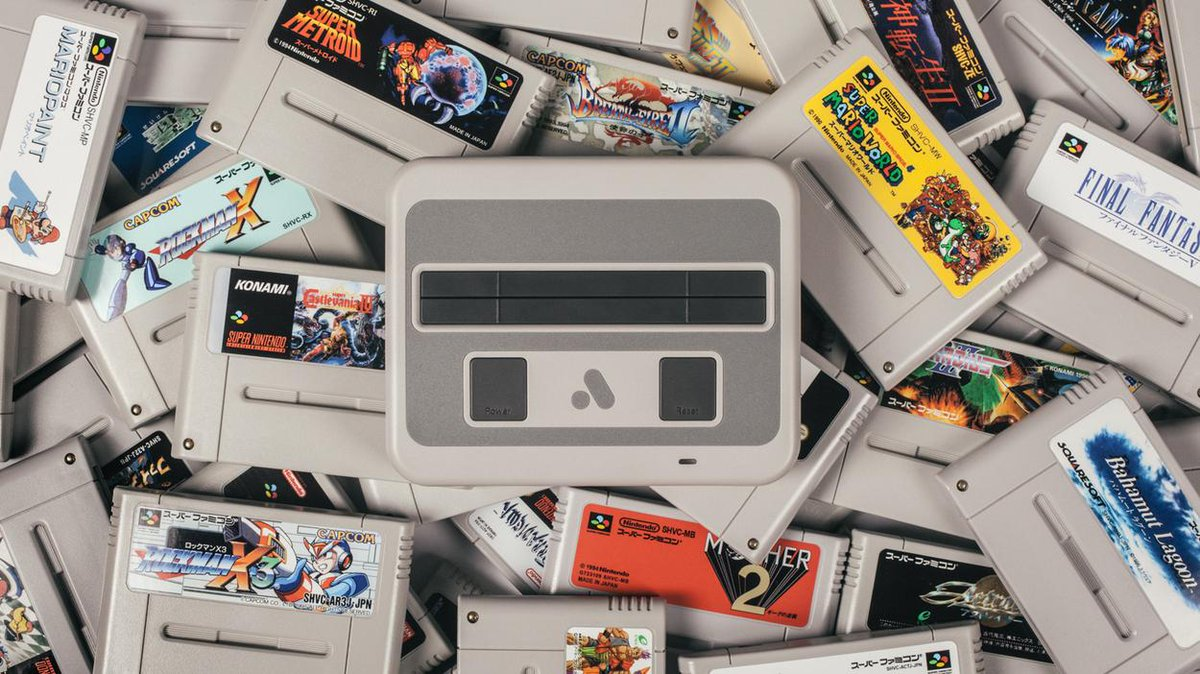 The Analogue Super NT is bette nes classic