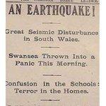 RT : This was Swansea's 1906 #earthquak...