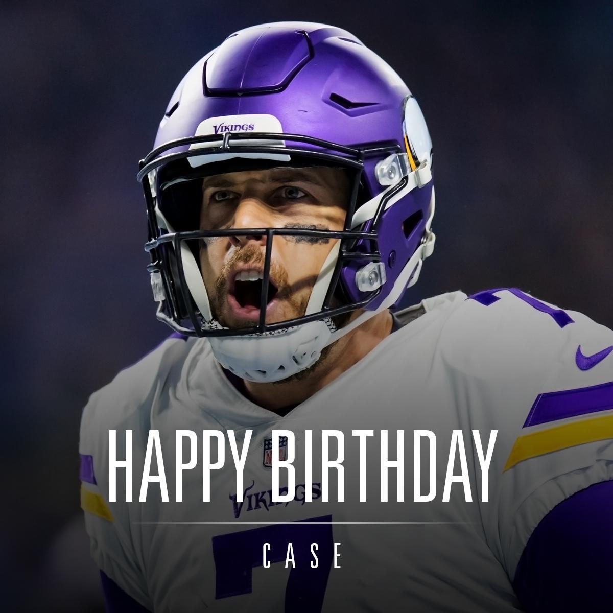 Happy birthday, @casekeenum7! https://t.co/zs2HnmOMRZ