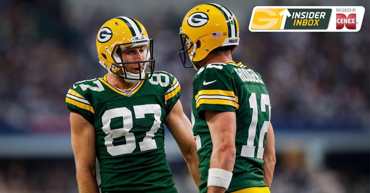 .@mikespofford answers fan questions on the #Packers offseason.  Insider Inbox ��: https://t.co/LPqnok7jwc https://t.co/YlEgoSCj5U