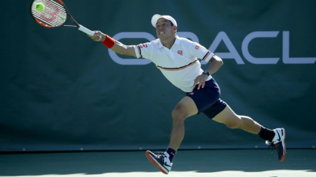 Nishikori into last four at New York Open
