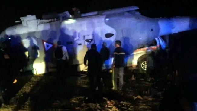 13 Killed in Officials' Helicopter Crash After Mexican Quake