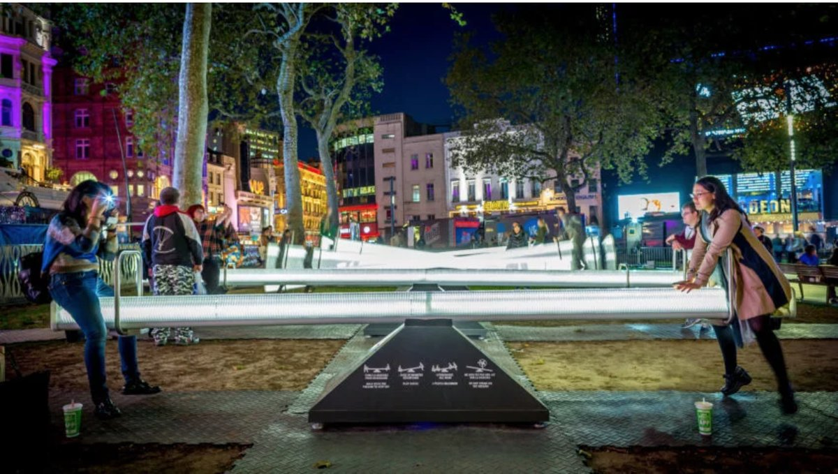 You can now hitch a ride on these glowing musical seesaws