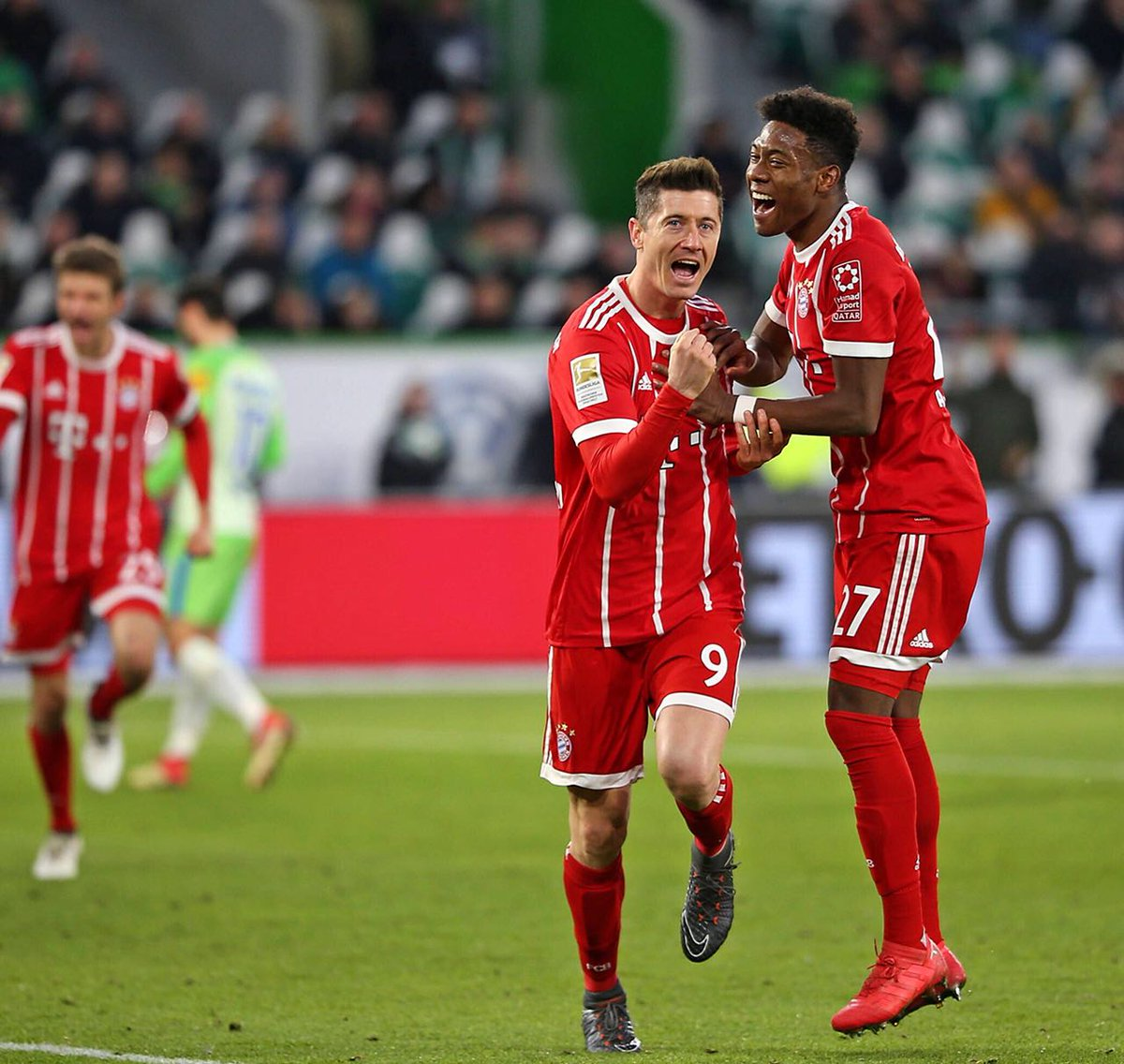 RT @David_Alaba: Close finish - three points 👊🏾💯 #MiaSanMia #da27 https://t.co/lGPWBi2cVh