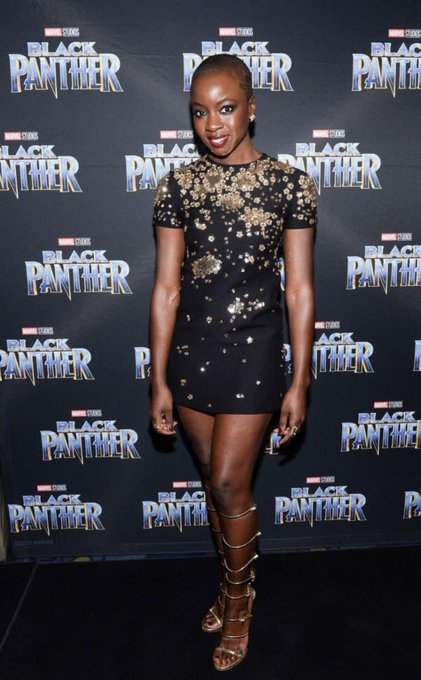 Happy Belated Birthday Danai Gurira 2/14/2018.