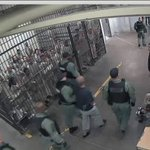 Video shows inmates clapping for accused cop killer