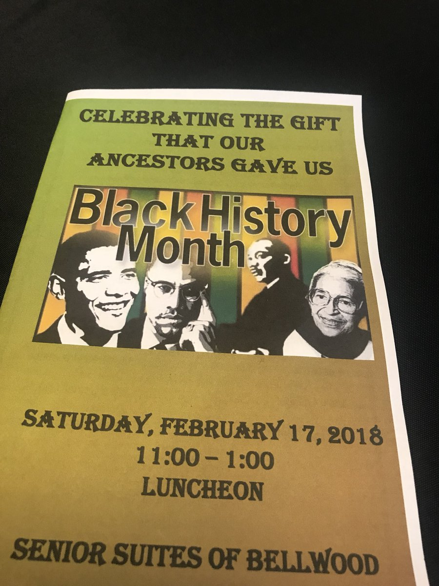 "test Twitter Media - My next stop today is the Bellwood Senior Suites where we are ""celebrating the gift the our ancestors gave us!""  #BlackHistoryMonth #BHM https://t.co/UoR86cQFkk"