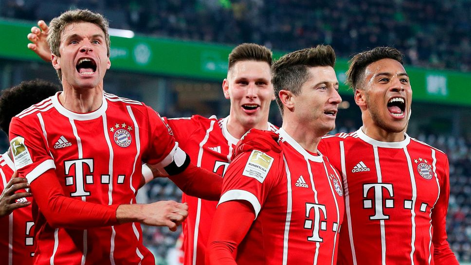 """Thomas Müller: """"In the second half, we showed the will to win Even if things might not be so exciting anymore up there at the top, it's fun, this team is just awesome."""" https://t.co/lqJo6YkNAa"""