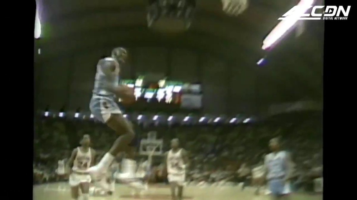 MJ's 55th + @UNC_Basketball gameday + Dunk Contest = Great day to Rock the Cradle https://t.co/XENypTtnaT
