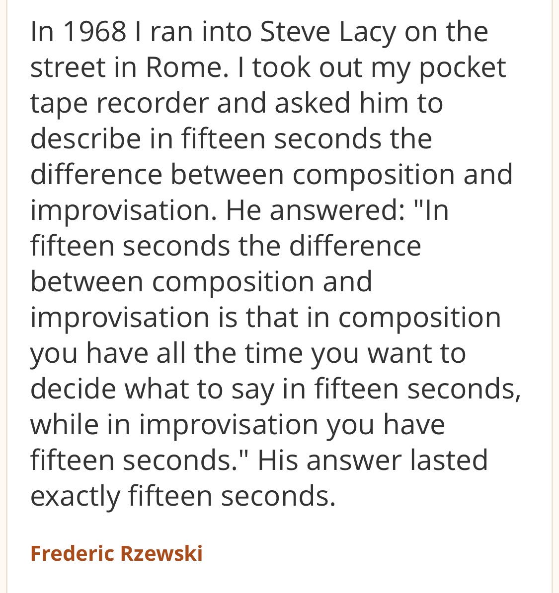 The greatest conversation between two musicians ever. Ever. Like...ever. https://t.co/3aTOOpUKY0