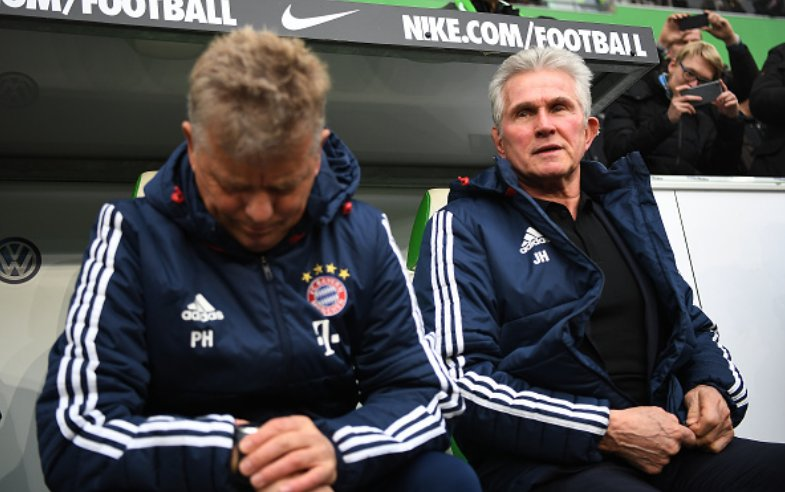"""Jupp Heynckes: """"Of course there is always a risk when you do a heavy rotation but all my players are international players and I want to give everyone playing time"""" #WOBFCB https://t.co/afXFC5WNtG"""