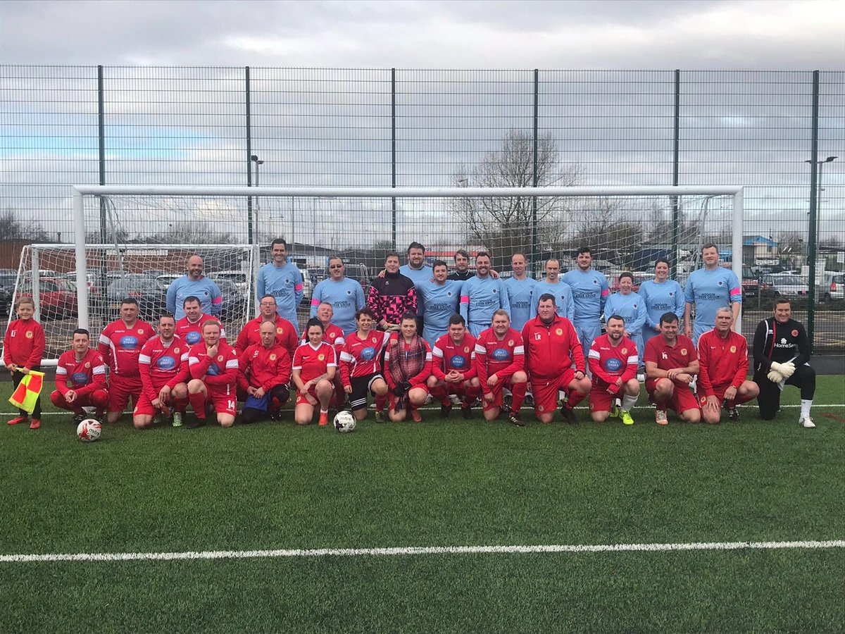 RT @BrianGreen1975: Great turn out for mylee Billingham match well done all xxx raised 500 pound 🎀🎀🎀🎀 https://t.co/IIwNfch5tE