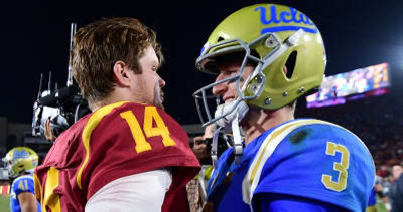 Mike Leach says Sam Darnold, Josh Rosen should have stayed in school