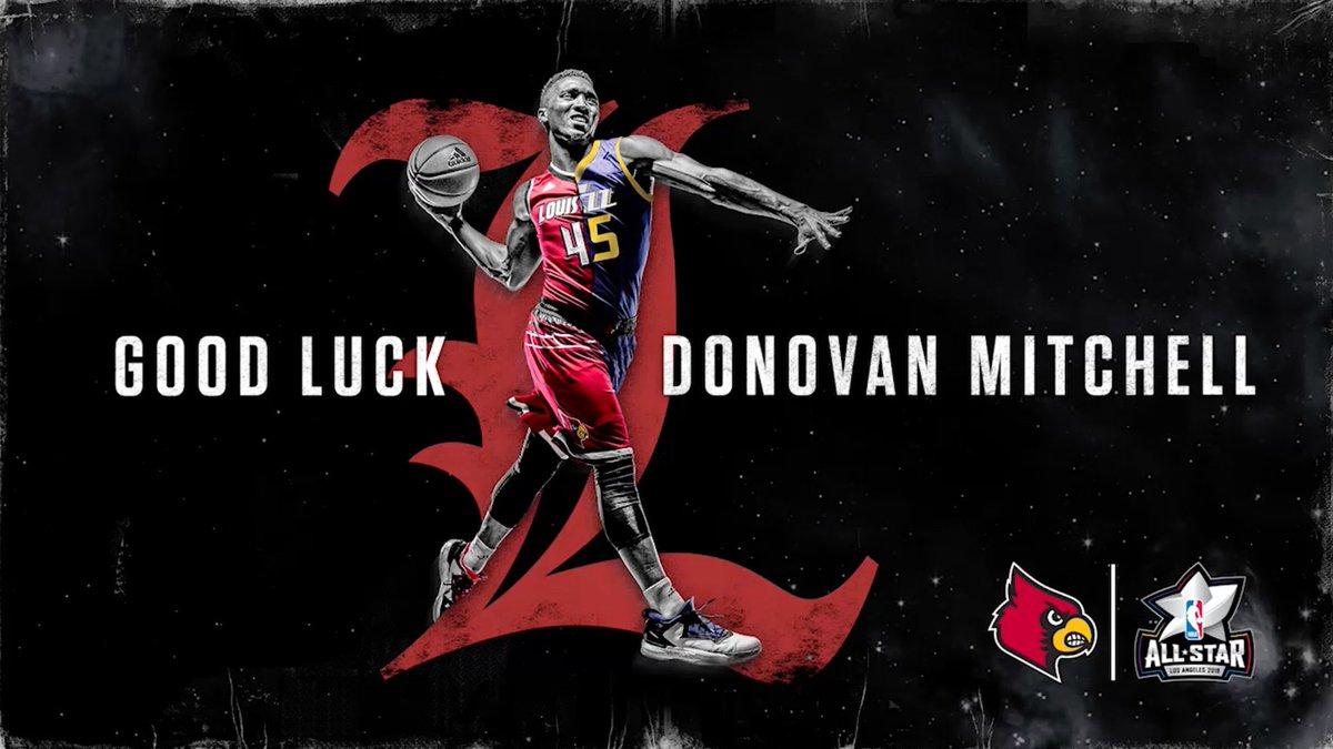 .@spidadmitchell, good luck in the #NBAAllStar Dunk Contest tonight! https://t.co/iRkpf0mTu4