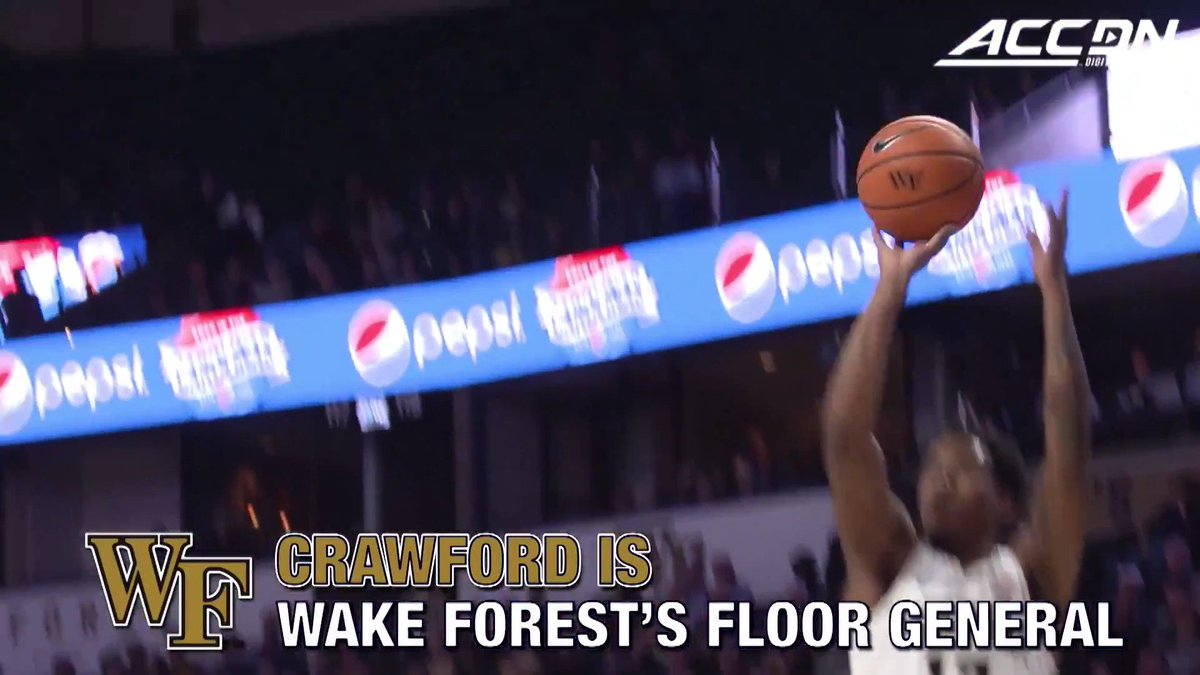 19 points in the first half? Bryant Crawford can do it all for @WakeMBB! https://t.co/OPZPFT9Y7U