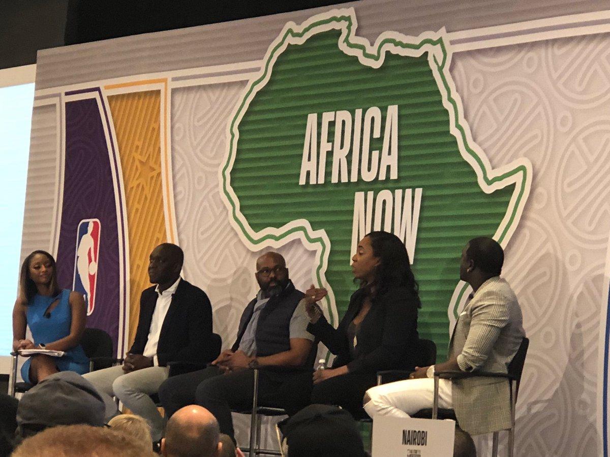 RT @gina_din: Great panel hosted by @IshaSesayCNN @Diop_WB @akon #africanow @NBA #NBAAllStarWeekend #nbaafrica https://t.co/cJTW2cVEsQ