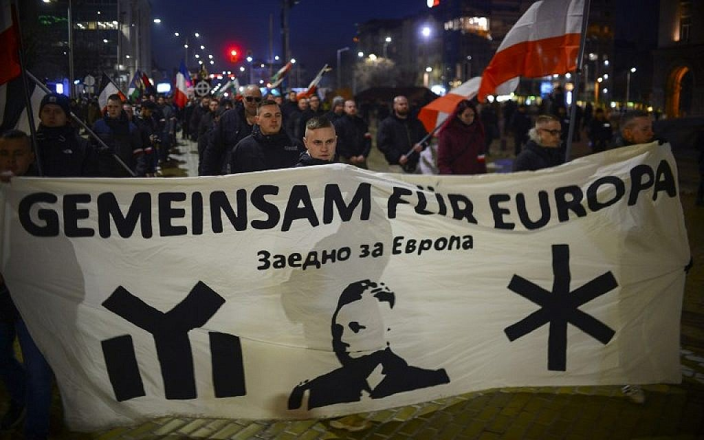 Bulgarian neo-Nazis march in honor of WWII general