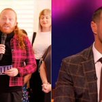 Paddy McGuinness appears on Through The Keyhole as Keith Lemon films a skit about a cheating TV worker whose wife has left him