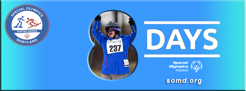 Are you watching the #Olympics and getting excited for the 2018 SOMD Winter Games? 8 more days! https://t.co/QJv0M8s54j