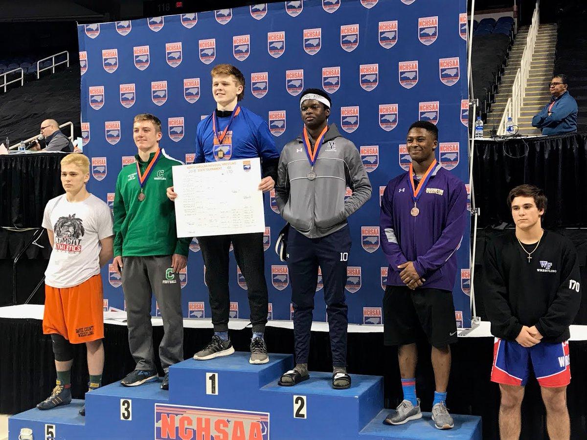 RT @NWGHS: Chris Garrison - @NCHSAA 4A 170lb NC State Wrestling Champion. Photo Credit: Coach Paul Egleston https://t.co/V8SqX51Z5Y