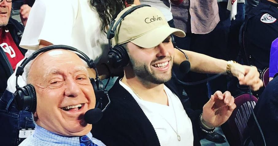 ESPN's Dick Vitale wants Baker Mayfield to be drafted by New York Giants or Jets