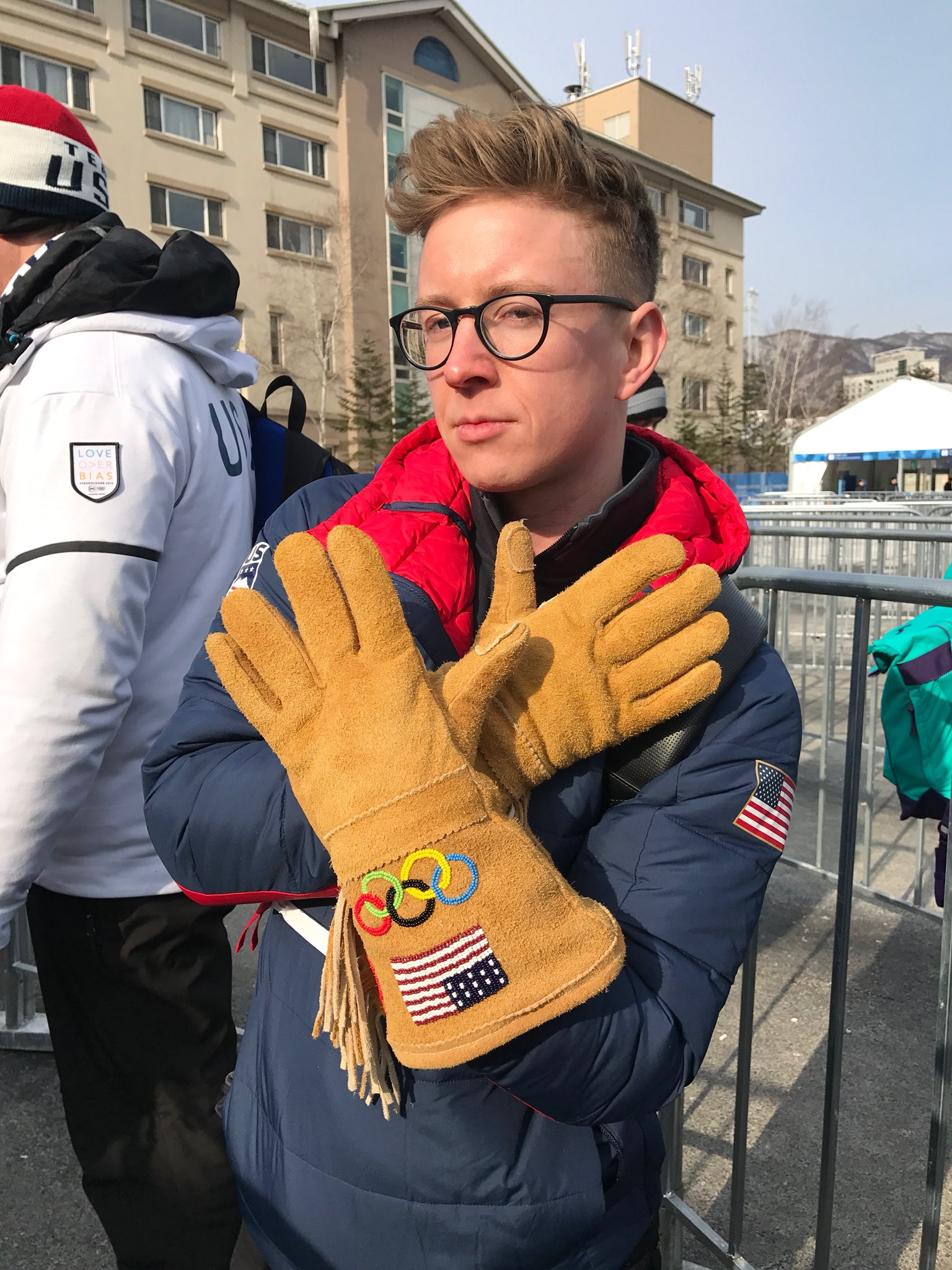 i don't mean to alarm you but i'm the pinnacle of fashion here at the #olympics https://t.co/8u5ZrZeoK1