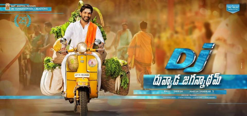 on this day  Released 1st look of DJ�� one year for classy look ���� #50DaysToAlluArjunBirthday https://t.co/OSffhe1Ghf