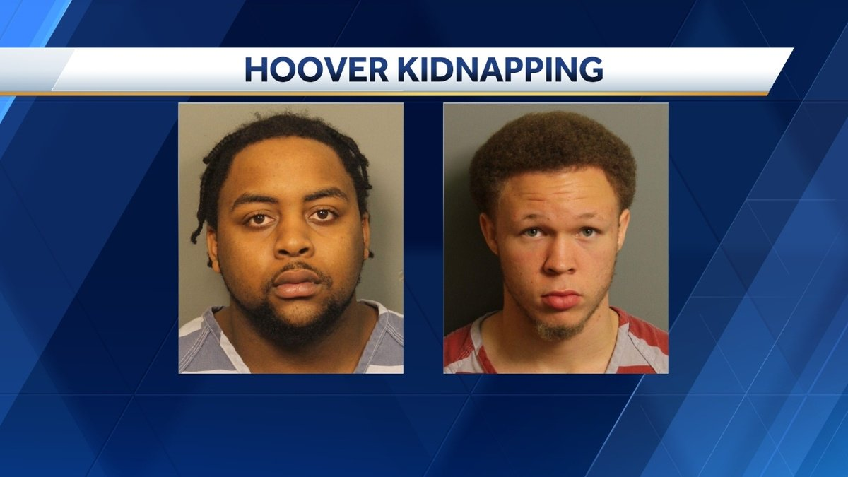 2 Hoover men charged in overnight kidnapping, robbery