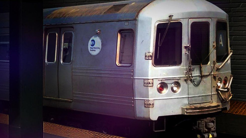 Poodle dashes off, stops New York subway line