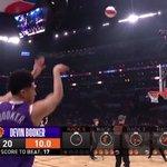 RT : Devin Booker's teammates cheer him...