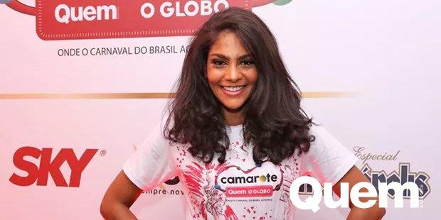 Barbara Reis. Foto do site da Quem Acontece que mostra Bárbara Reis mostra curvas após perder 15kg e celebra sucesso na TV e na Sapucaí.